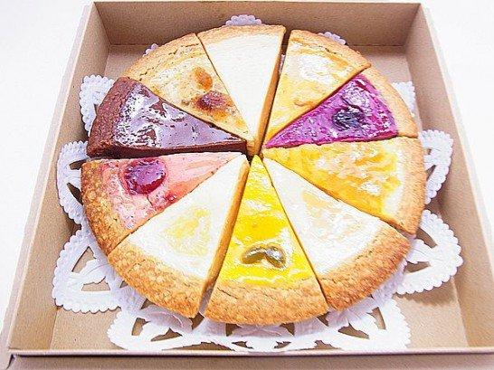 麻布チーズケーキセット