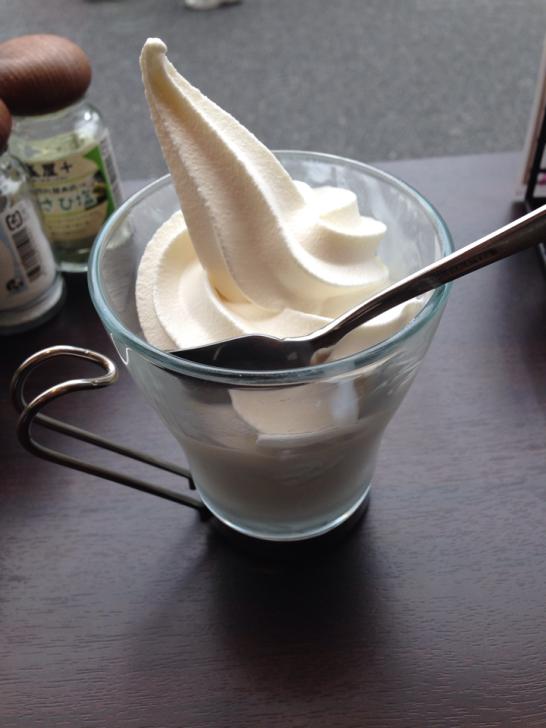 雪塩ソフトクリーム